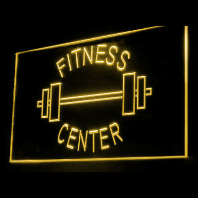 160034 OPEN Fitness Center Gym Apparatus Display LED Light Sign