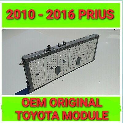 2x TOYOTA PRIUS HYBRID BATTERY CELL NIMH MODULE  2010 2011 2012 2013 2014 2015