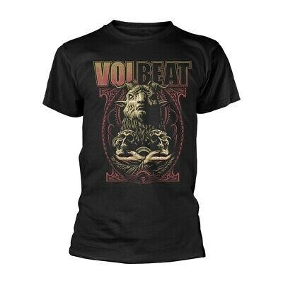 VOLBEAT T-Shirt Voodoo Goat All Sizes Black NEW OFFICIAL Rewind, Replay, Rebound