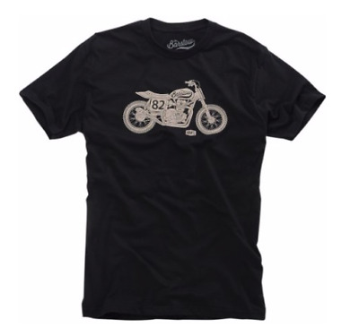 100% Men's Motel Tee Black, M