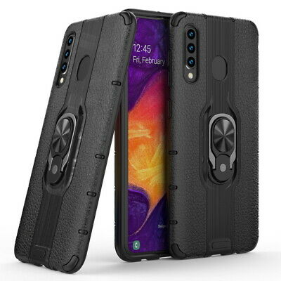 Ring Holder Gel Bumper Hard Armer Case Cover For Samsung Galaxy S10 M20 A750 A30