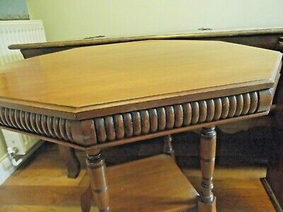 Victorian Mahogany Octagonal Occasional Centre Hall Table