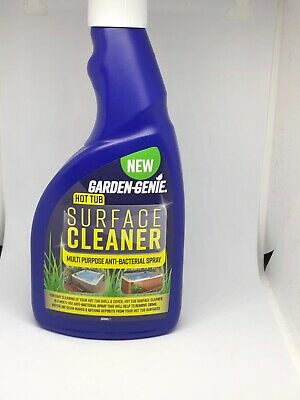 Hot Tub 500ml Surface Cleaner, Use on Spa Hot Tub & Pool. Made In UK & UK Seller