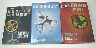 The Hunger Games Trilogy Book Set by Suzanne Collins, very good