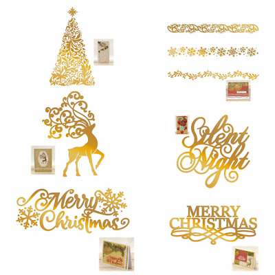 Couture Creations - Naughty or Nice Hotfoil Stamps - Choose from 6 Designs