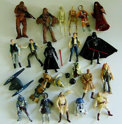 Star Wars Mixed Action Figures Bundle
