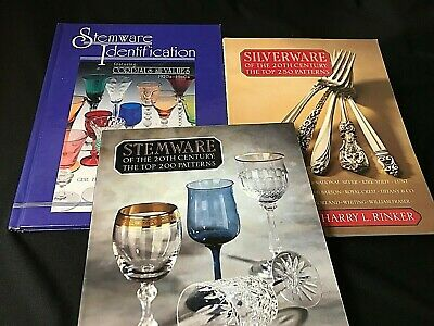 SILVERWARE * STEMWARE * 20TH CENTURY * Collectors / Price Guide  ***3***