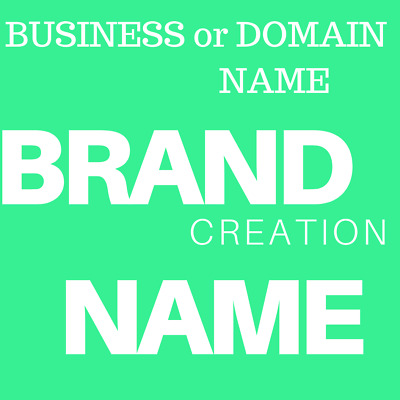 BUSINESS BRAND NAME or WEBSITE DOMAIN ADDRESS for SALE UNIQUE YOUR SPECIFICATION