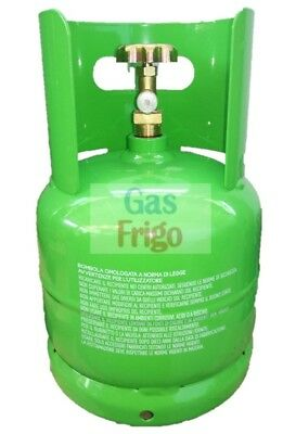 Cylinder Empty Rechargeable for 2,5 Lt for all Types by Gas Coolant