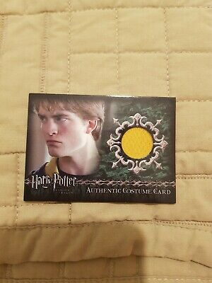 Harry Potter Cedric Diggory's Costume Card 378/500 GOBLET FIRE Robert Patterson