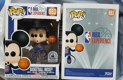 Funko Pop! #553 Basketball Mickey Mouse (Disney NBA Experience Exclusive)