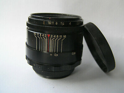Helios 44-2 58mm f./ 2 - 2/58mm M39 Lens mount 8 blades