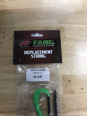 PSE Fang XT, LT Replacement String Crossbow FLO GREEN # 42249
