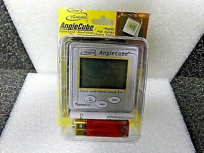 Angle Cube Digital Guage Angle & Level Sensor Bevel Electronic iGaging Anglecube