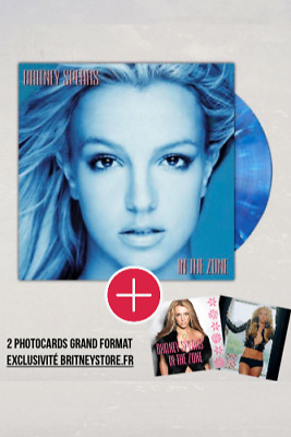 "Vinyle ""In The Zone"" - Britney Spears - Vinyl édition bleue (Urban Outfitters)"