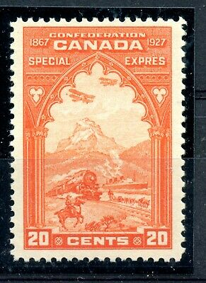 Weeda Canada E3 F/VF MNH 20c orange 1927 Special Delivery issue CV $92.50