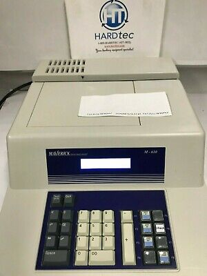 Maverick M-610 Check Encoder MICR with ribbon, REFURBISHED
