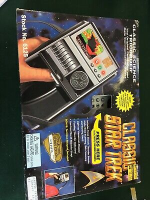 Classic Star Trek Classic Science Tricorder Collectors Series Edition Working