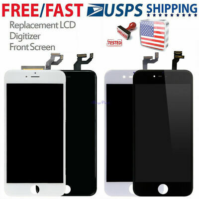 For iPhone 6S 5S 6 6SPlus 7+ LCD Display Touch Digitizer Full Screen+Button New