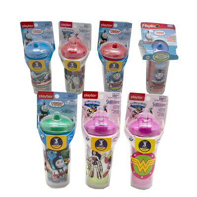 2-Pack Playtex Sipsters Insulated Spill Proof Straw Cup Assorted Styles