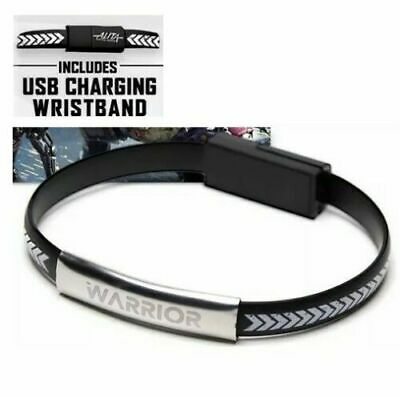 Alita Wristband Usb Cable For Both Android Or Apple Super Rare ✔☆New☆✔ Durable