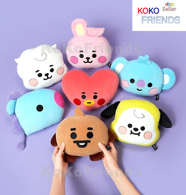 BTS BT21 Official Baby Flat Face Cushion Authentic KPOP Merch Goods + Tracking