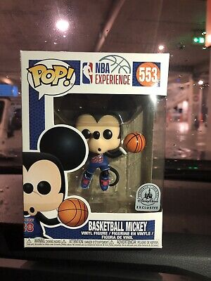 Funko Pop! #553 Basketball Mickey Mouse (Disney Exclusive)