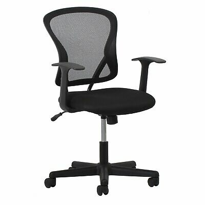 Essentials Swivel Mesh Task Chair with Arms - Ergonomic Computer/Office Chair