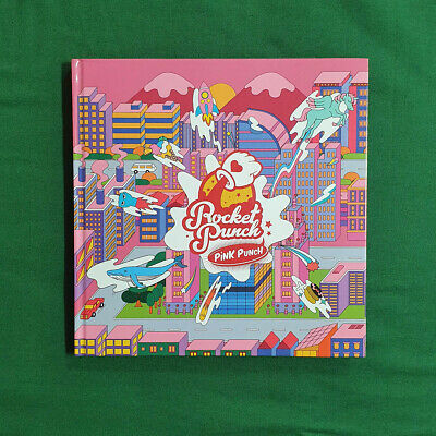 [Pre-Owned/No Photocard] Rocket Punch 1st Mini Album Pink Punch - CD/ Booklet