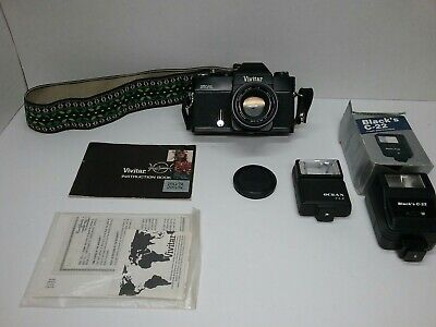VIVITAR 250/SL 35mm Film Camera Plus Extras