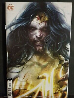 Dceased #3      Francesco Mattina Variant     Wonder Woman     Dc Comics    Nm