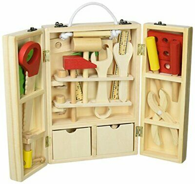 *Storage can be wooden tool box break even carpenters set [educational toys]