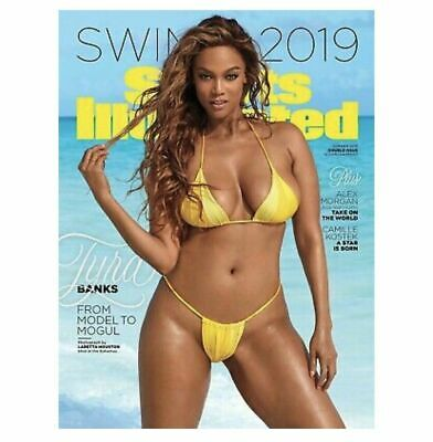 Sports Illustrated 2019 Swimsuit Issue Magazine TYRA BANKS
