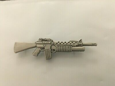 Us Army M-203 Grenade Launcher Hat Pin