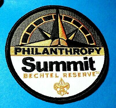 24Th 2019 World Scout Jamboree Official Wsj Summit Sbr Philanthropy Badge Patch