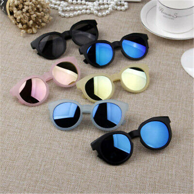 Fashion Kids Sunglasses Colorful UV400 Resin Lens Eye Protection Glasses Goggles