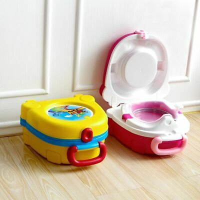 New Carry Potty Toilet Training Portable Travel Toilet Trainer Just for Kids