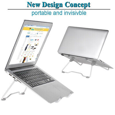 Comfortable Portable Invisible Laptop Stand Adjustable Folding Notebook Holder U