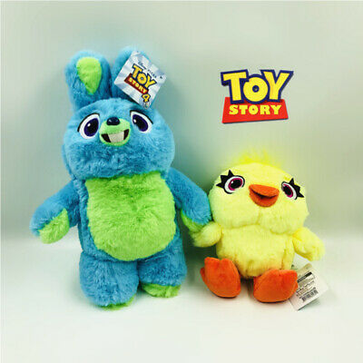 2019 Pixar Toy Story 4 Ducky And Bunny Scented Soft Stuffed Plush Kid Xmas Gifts