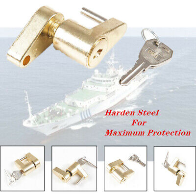 "1/4""Small Trailer Lock Tow Hitch Ball Bar Trailer Coupler Universal for Boat Kit"