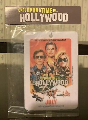Once Upon A Time In Hollywood Air Freshener Limited Edition! RARE! Collectible