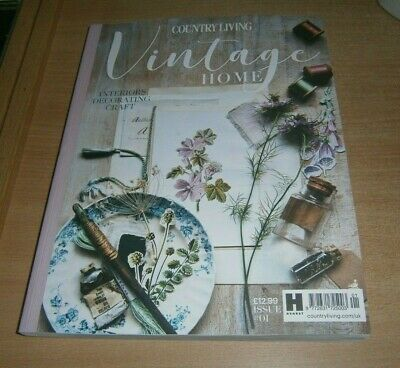 Country Living Vintage Home magazine #1 2019 Interiors - Decorating - Craft