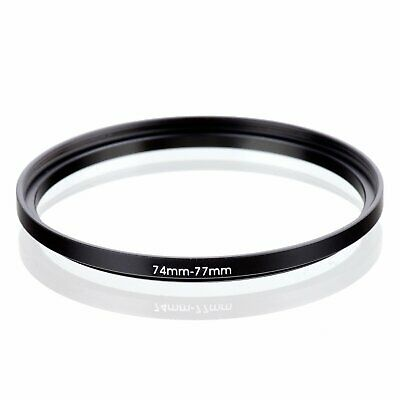 74-77 74mm to 77mm 74mm-77mm Matel Step-up Stepping Up Ring Filter Adapter