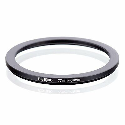 77-67 77mm to 67mm 77-67mm Matel Step-down Stepping Down Ring Filter Adapter