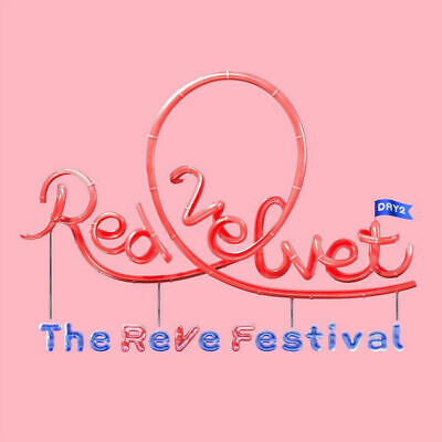 Red Velvet The Reve Festival' Day 2' [ Guidebook ] + Poster Opt+Tracking, Sealed