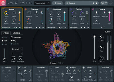 Izotope Vocalsynth 2 & Nectar 3 Bundle  For Mac Os