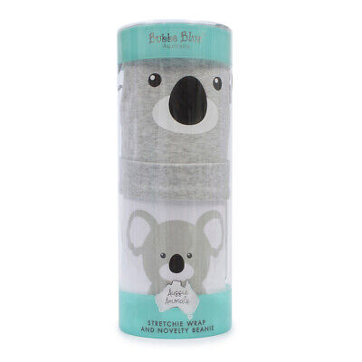 NEW Bubba Blue Koala Stretchie & Beanie Set