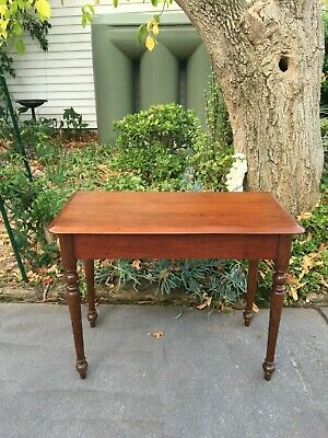 Lovely Antique Cedar Hall / Side Table!  Would also make a good desk