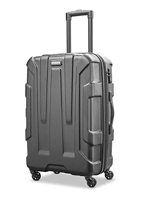 Samsonite Centric Expandable PC Hardside Luggage Spinner Wheels Carry On Black