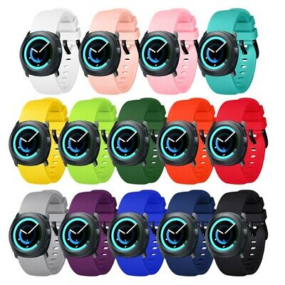 Silicone Smart Watch Bands Strap Replacement Wristband For Samsung Gear Sport